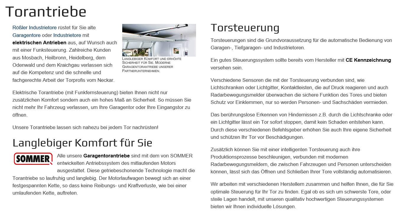 Torantriebe für  Oerlenbach , Großrinderfeld, Wittighausen, Wertheim, Werbach, Grünsfeld, Tauberbischofsheim